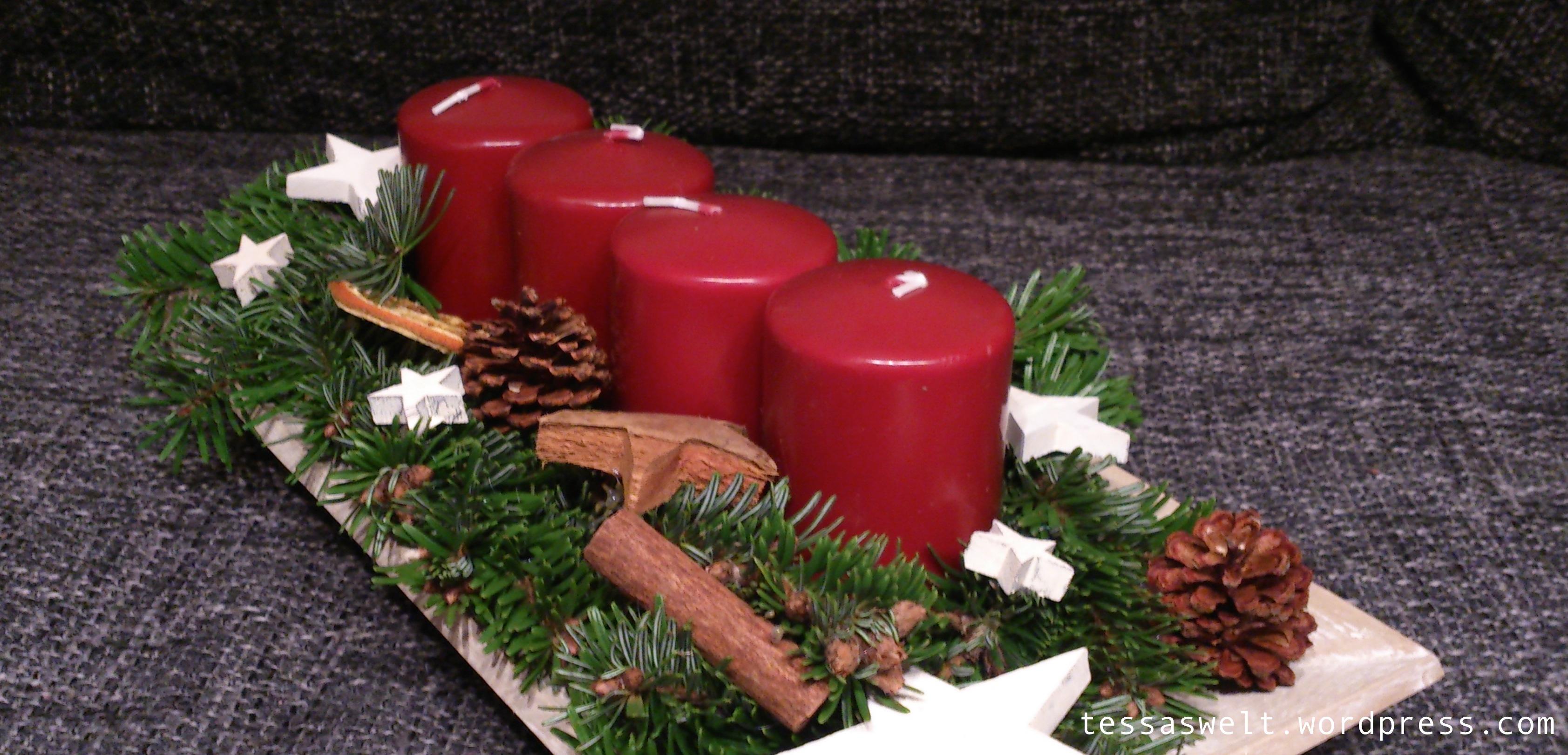 diy adventskranz und ank ndigung einer kleinen berraschung tessas welt. Black Bedroom Furniture Sets. Home Design Ideas