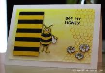 Bienenkarte