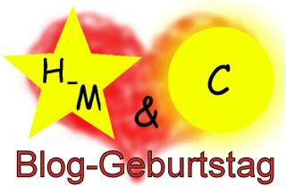 H-M und C Blog-Geburtstag